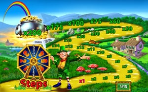 Play slot games such as Rainbow Riches at PlayFrank Casino