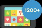 1200 online casino games